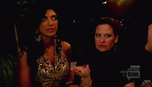 Caroline Manzo and Teresa Giudice