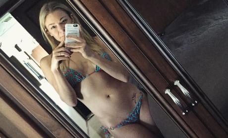 LeAnn Rimes Bikini Selfie 2015