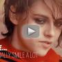 Kristen Stewart Claims She Smiles... Often!
