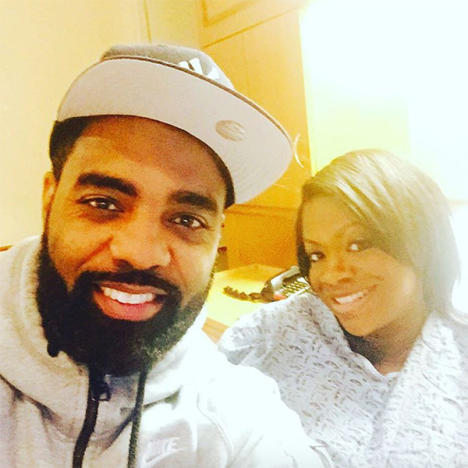 Kandi Burruss in the Hospital