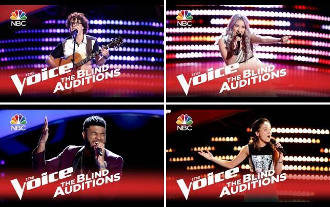 The voice season 9 premiere recap lovin you blind auditions the