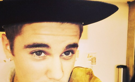 Another Justin Bieber Selfie