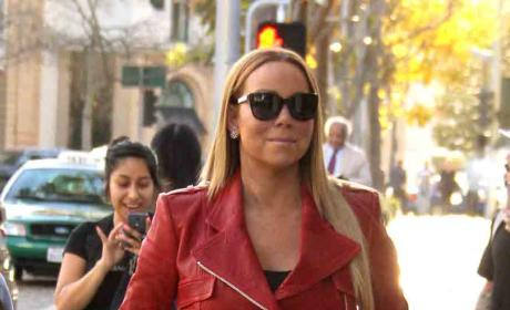 Mariah Carey Shops at Van Cleef & Arpels