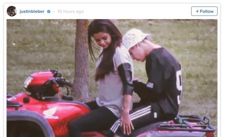 Selena Gomez and Justin Bieber: Throwback Photo