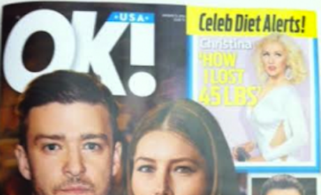"Justin Timberlake-Jessica Biel Divorce Rumors Rage On; Tabloid Claims Couple ""Crumbling"""