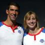 Michael Phelps Katie Ledecky Swim Trials Pic