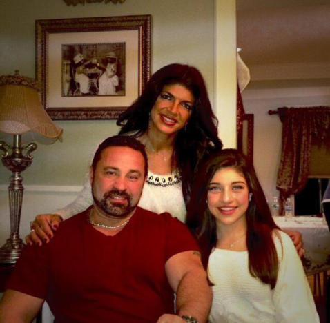 Teresa, Joe and Gia Giudice