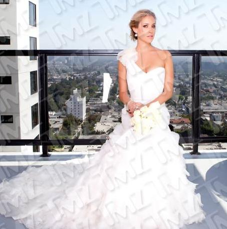 Kristin Cavallari Wedding Dress