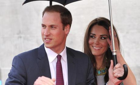 Prince William, Kate Middleton Shine at Movie Premiere
