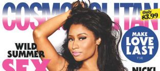 Nicki Minaj Cosmopolitan Cover