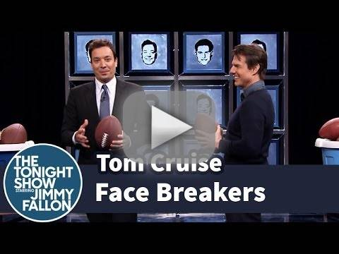 Jimmy Fallon vs. Tom Cruise in Face Breakers