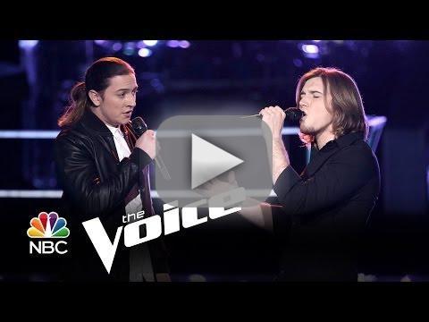 Morgan Wallen vs. Stevie Jo: 'Story of My Life' (The Voice Battle Round)