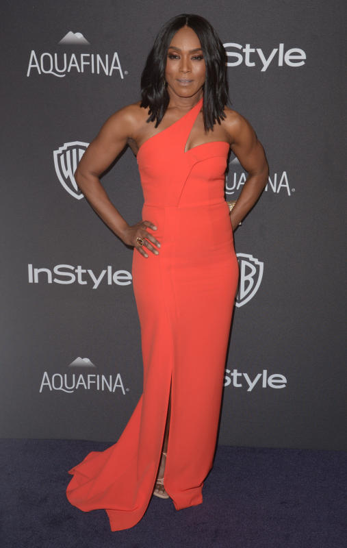 Angela Bassett: 2016 InStyle/Warner Bros Golden Globes After Party