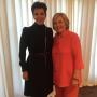 Kris Jenner Also Poses with Hillary Clinton
