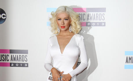 Christina Aguilera at American Music Awards