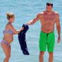 Hayden Panettiere: Pregnant, Bikini Baby Bumpin' in Miami Beach!