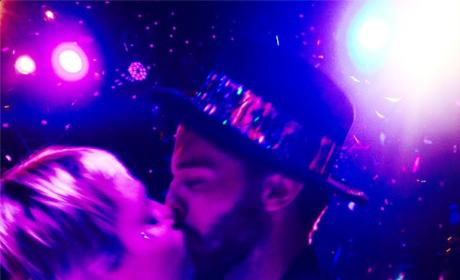 Miley Cyrus Makes Out with Patrick Schwarzenegger: See the Smooch Here!