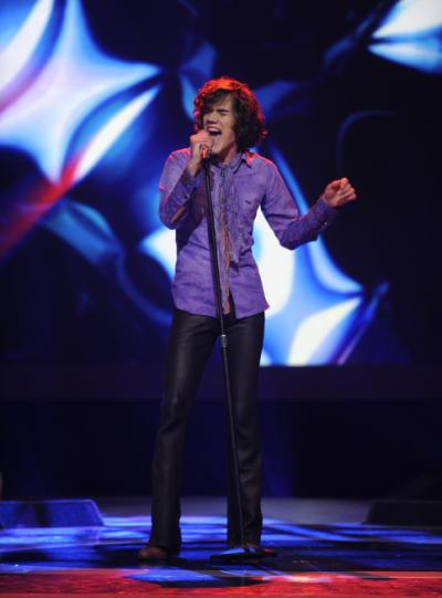 Grady on Stage