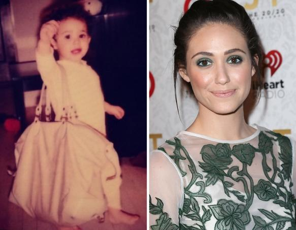 Emmy Rossum as a Kid