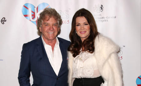 Lisa Vanderpump and Ken Todd: A British Winter WonderLand UKares 2015 awards