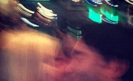 Johnny Galecki: Kissing Kaley Cuoco?