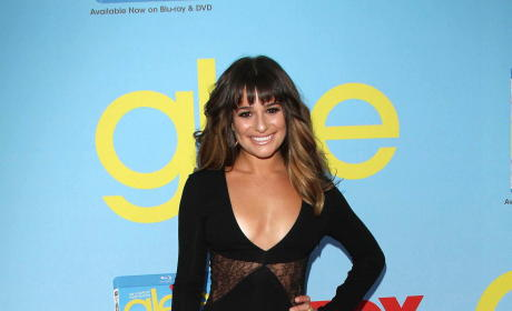 Lea Michele Red Carpet Gown