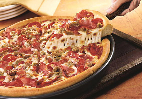 Meat Lovers Pizza from Pizza Hut
