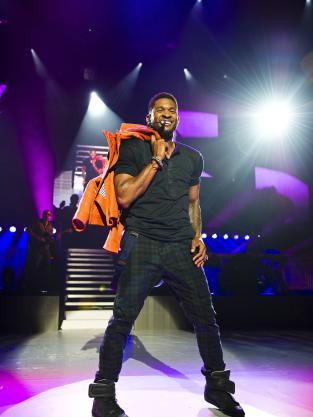 Usher in London