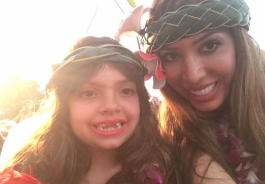 Farrah Abraham with Daughter
