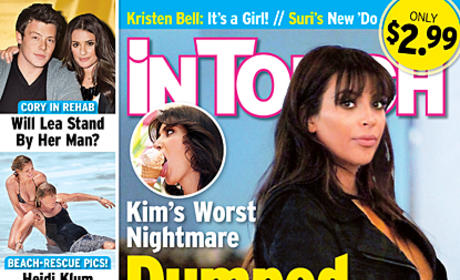 Kim Kardashian: Dumped for Being Fat!!!