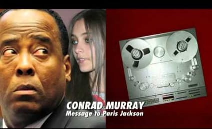 "Conrad Murray Leaves Paris Jackson Bizarre Pay Phone ""Letter"""