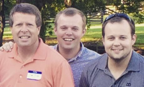 Jim Bob, John David and Josh Duggar