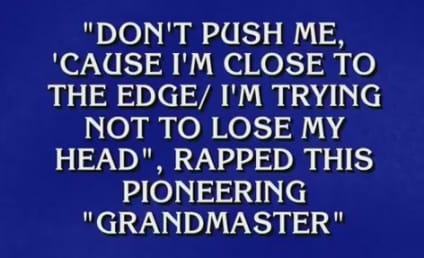 Alex Trebek Raps Jeopardy Category, Makes Like Dr. Dre