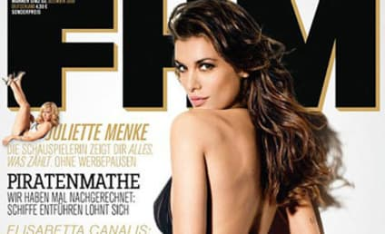 Elisabetta Canalis Sizzles on Cover of FHM Germany