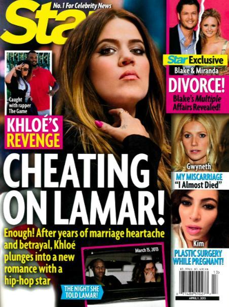Khloe Kardashian Cheating Story