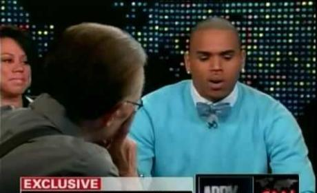 Chris Brown on Larry King Live: Part I