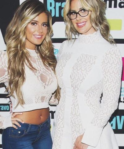 Brielle and Kim Zolciak on the Red Carpet