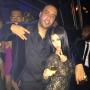 "French Montana and Kourtney Kardashian: Sean ""Diddy"" Combs' Birthday"