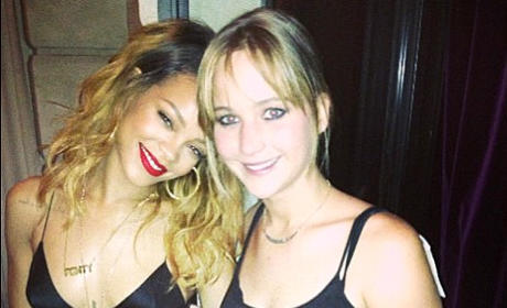 Jennifer Lawrence, Rihanna Photo