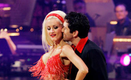 Holly Madison: Injured, Still Competing on Dancing with the Stars