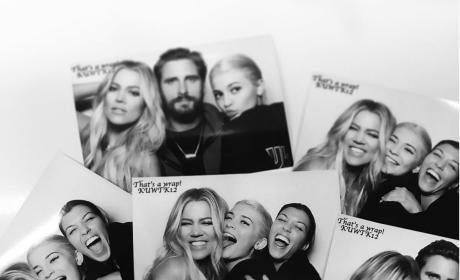 Kardashians Season 12 Wrap Party