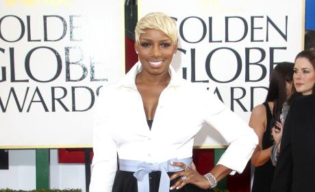 NeNe Leakes at the Golden Globes