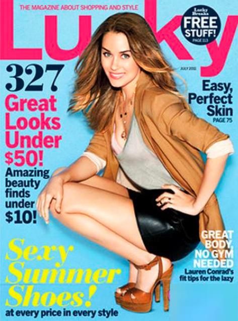 Lauren Conrad Covers Lucky