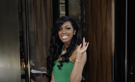 "Porsha Stewart: Staying ""Prayerful"" Through ""Difficult Time"""