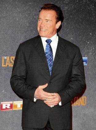 Schwarzenegger Smiles