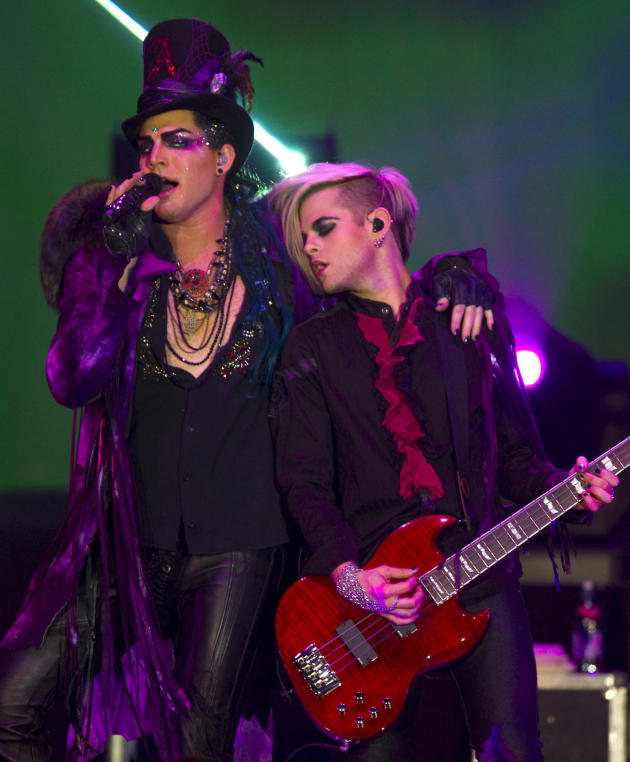 Adam and Guitarist