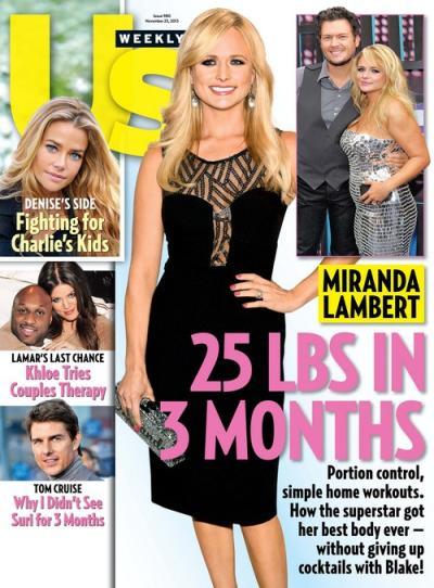 Miranda Lambert Us Weekly Cover