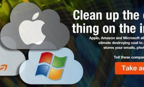 Greenpeace Takes Apple, Amazon, Microsoft to Task Over Coal-Powered Cloud Data Centers