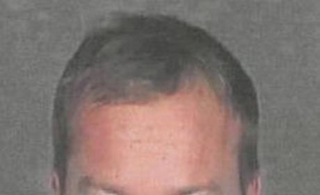 Kiefer Sutherland Mug Shot