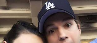 Ashton Kutcher and Mila Kunis: Goofy Selfie Alert!